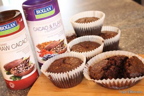 Vegan Cherry Chocolate Healthy Muffins