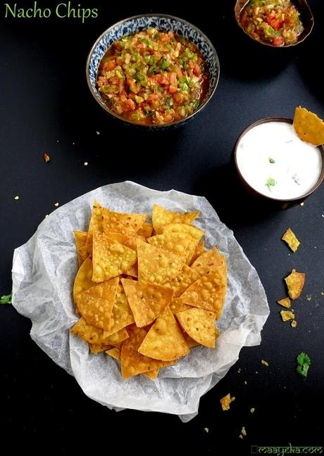 How To Make Tortilla Chips Nacho Chips Paperblog