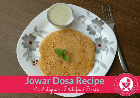Jowar Dosa Recipe or Sorghum Pancake