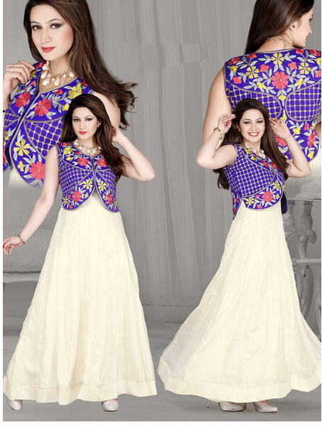 Ethnic Gown with Jacket