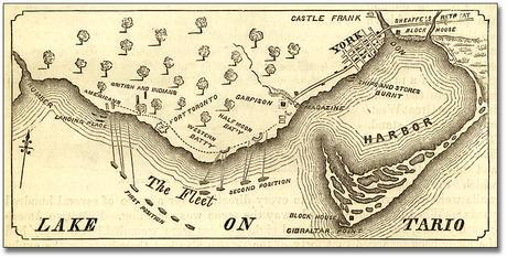 Historical maps of Toronto - Map of York 1812