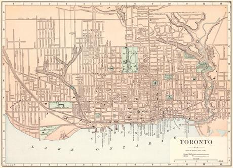 Historical Maps of Toronto