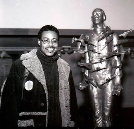 Michael Richards & Tar Baby vs. St. Sebastian (Photo: Frank Stewart / The Studio Museum in Harlem)