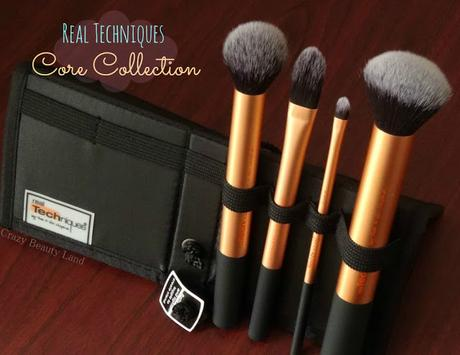 Makeup Tools Review : Real Techniques by Sam & Nic Chapman Core Collection Set