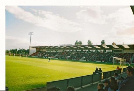 Dean Court, Boscombe on my first visit 12 years ago this month.