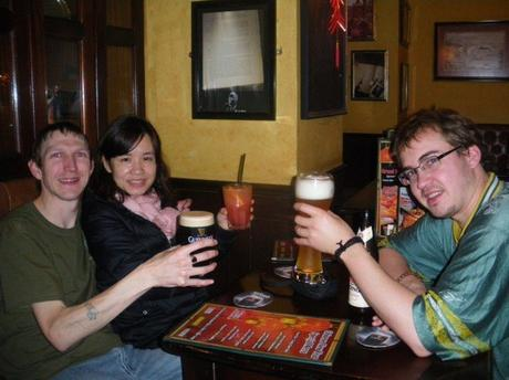 Myself, Panny and Millwall Neil in Hong Kong in 2012
