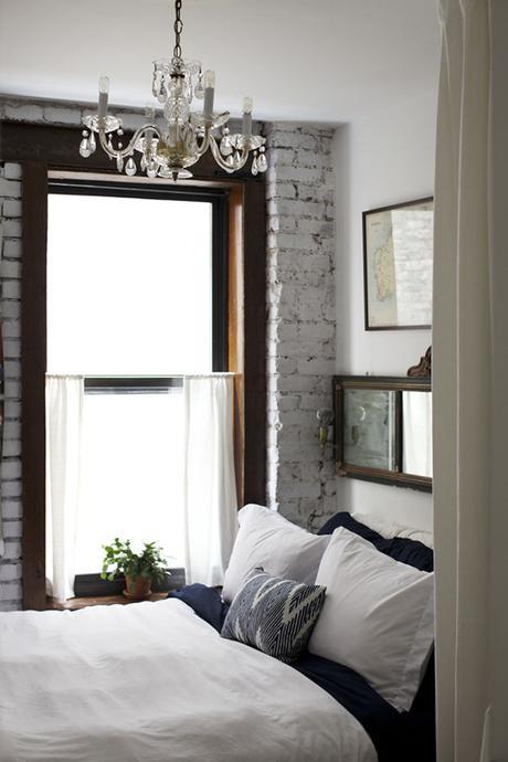Cozy eclectic chic bedroom via Lonny
