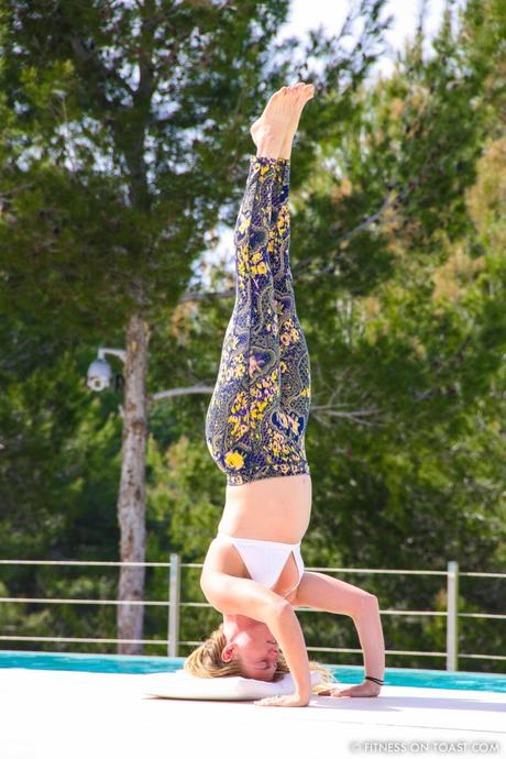 Fitness On Toast Faya Blog Girl Healthy Ibiza Balearic Bootcamp Holiday Active Travel Luxury Retreat Detox Training Headstand Yoga-4