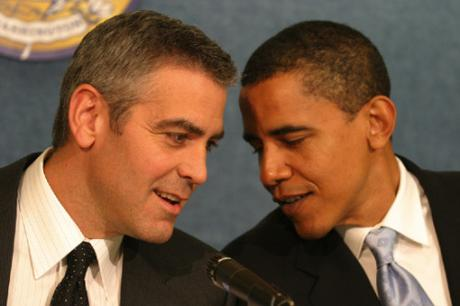 Bet Clooney isn't having a political debate with Obama