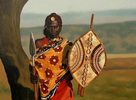 Nomadic Maasai Warriors