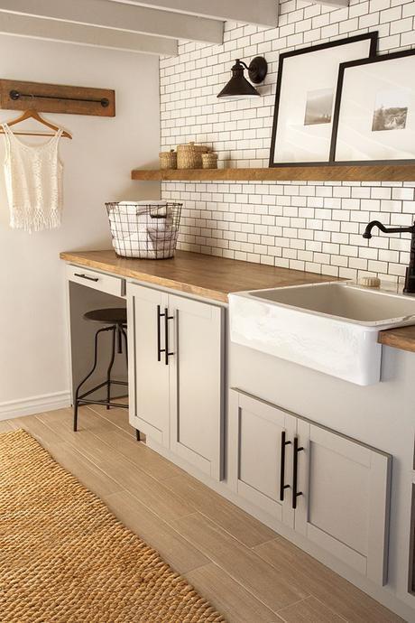 Before & After: Jenna's Laundry Room Makeover | Design*Sponge: