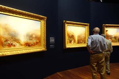 PAINTING SET FREE: J.M.W. Turner Exhibit at the de Young Museum, San Francisco, CA