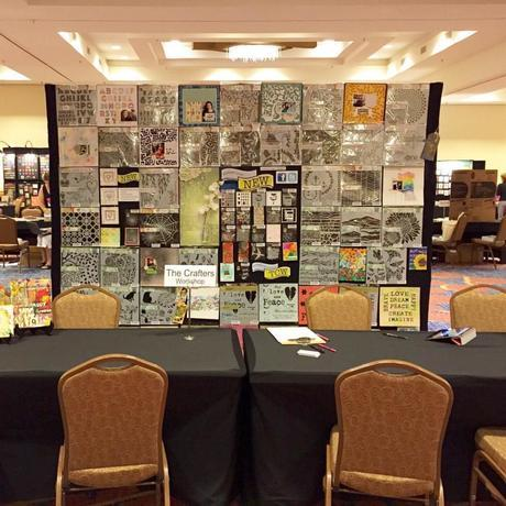 TCW Tradeshow Booth for The Collins Group