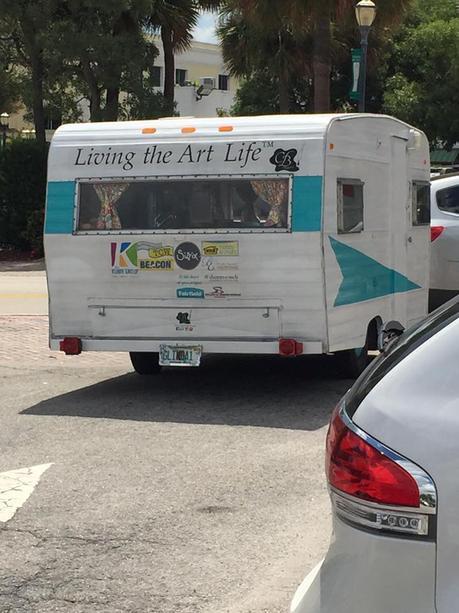 Living The Art Life™ Vintage Trailer