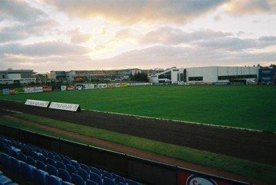 At the Stadium in Keflavik