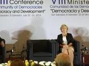 What's Role Private Sector Democracy Development?