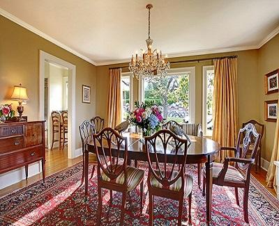 Antique-dining-table-chairs