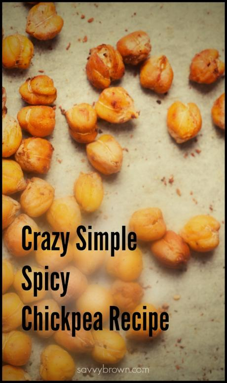 Spicy Chickpea Snack Recipe - Savvy Brown