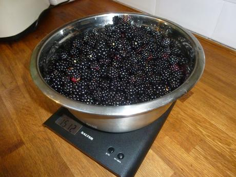 Homegrown Fruit .... and Costings
