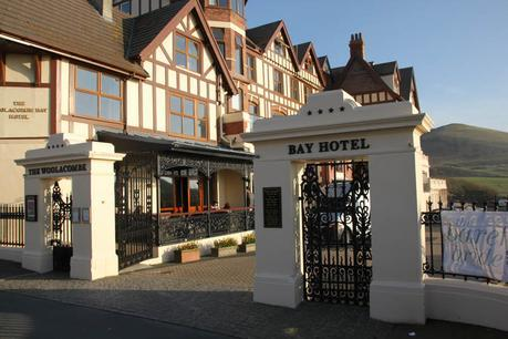 Woolacombe Bay Hotel front gate