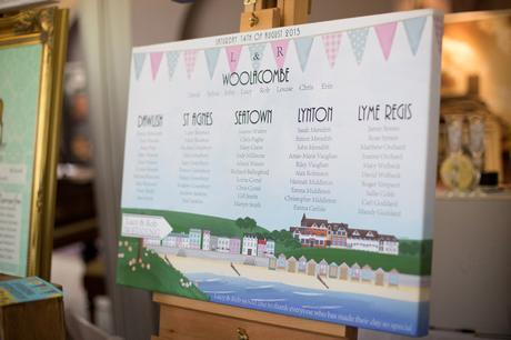 Table plan featuring Woolacombe Bay Hotel