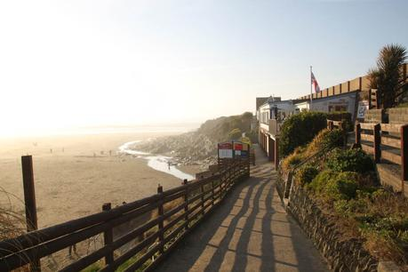 Path to the beach at Woolacombe