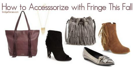 How to Accessorize with Fringe This Fall