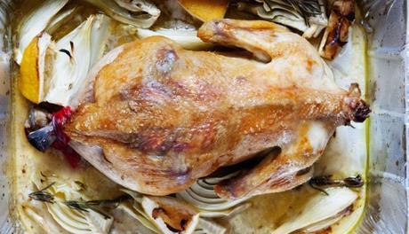 Fennel & Lemon Roasted Chicken