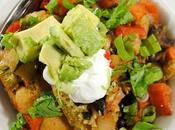Mexican Tamale with Nutty Roasted Vegetables Black Beans