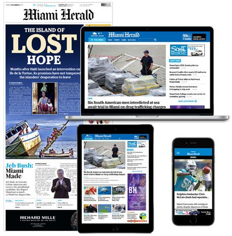 The Miami Herald, el Nuevo Herald launch with new look