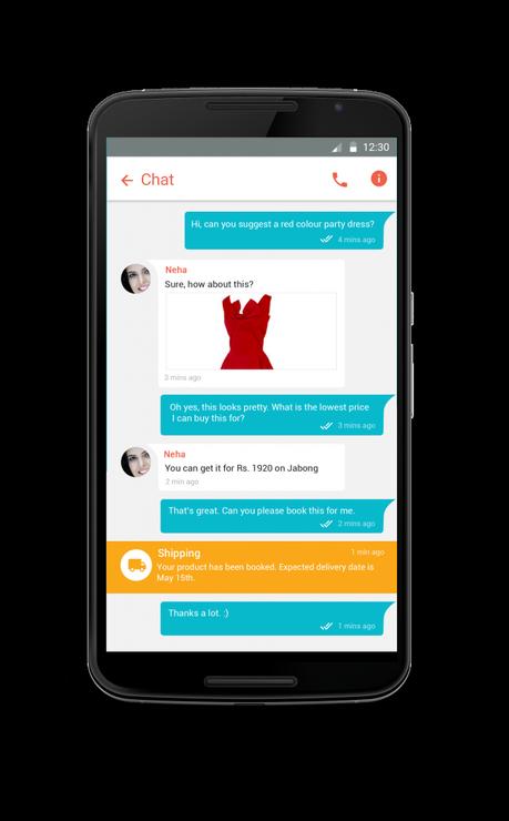 Helpchat app pic1