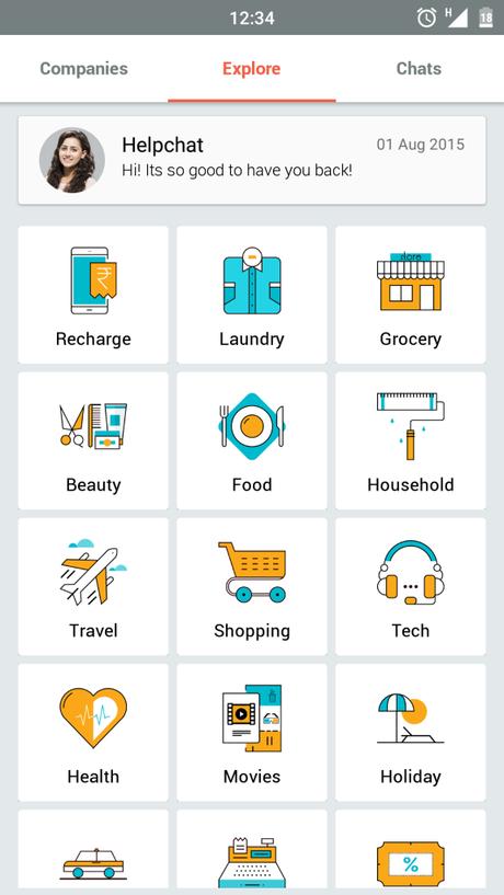 Helpchat app pic2