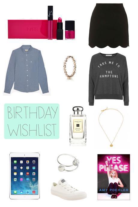 Hello Freckles Birthday Wishlist