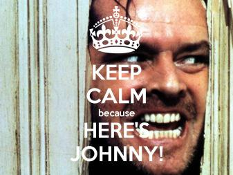 here johnny