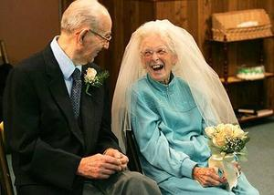 old newly wed