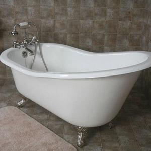 orbetello clawfoot bath tub bathroom