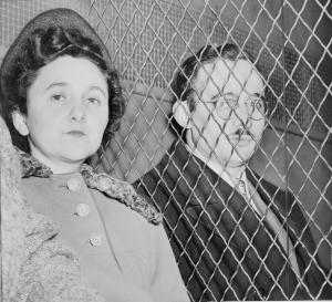 Ethel and Julius Rosenberg, December 1950.