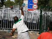 """Migrant"" Invaders Break Through Hungary's Border; Throw Bottles Rocks Riot Police"
