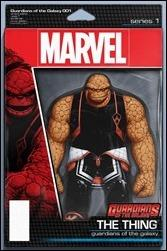 Guardians Of The Galaxy #1 Cover - Action Figure Variant