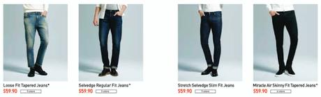 UNIQLO redefines denim: The Miracle Air Jeans & Smart Shape Jeans