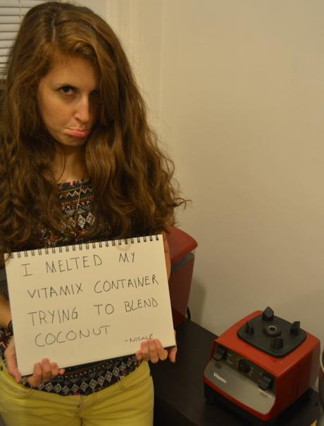 FFGirlfriendShaming   Girlfriend Shaming   Melted Vitamix