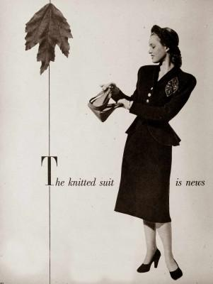 1940s Fashion – Fall Suits for 1947
