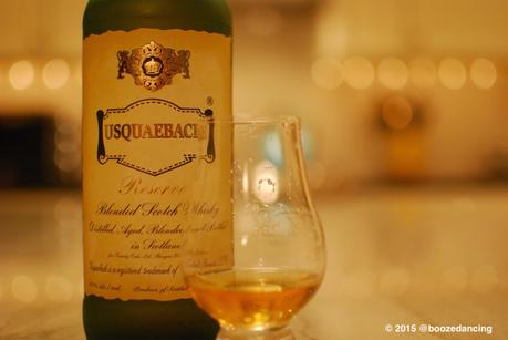 Whisky Review – Usquaebach Reserve