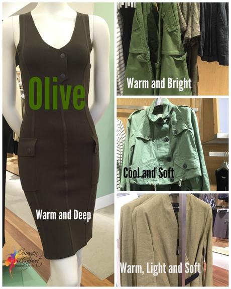 How to pick a a cool or warm khaki or olive