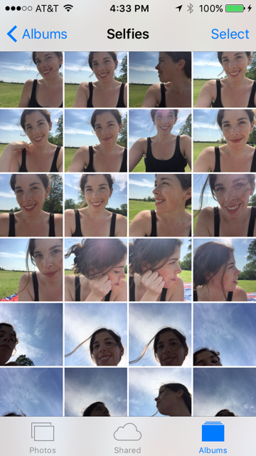 New Apple Software Update Adds a Designated 'Selfies' Album, Betrays Our Collective Trust