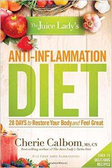 Book Review: The Juice Lady's Anti-Inflammation Diet by Cherie Calbom, MSN