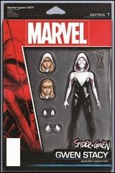 Spider-Gwen #1 Cover - Christopher Action Figure Variant