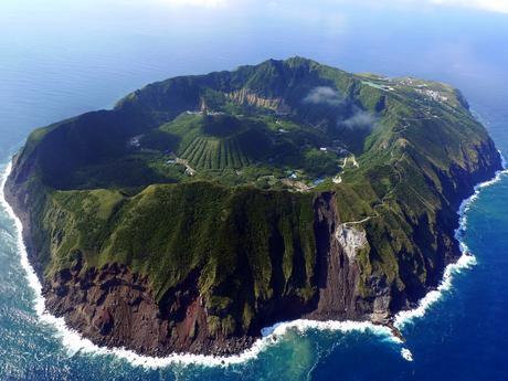 Volcanic Island of Aogashima, Japan