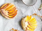 Peach Marzipan Tartes