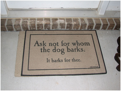 Designer doormats – nifty way to greet your guests and family with style and color